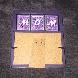Accents - Purple moms photo frame